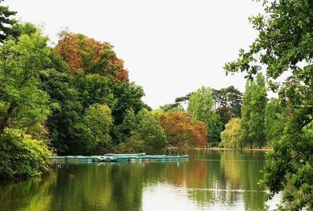 Lac des Minines - Vincennes 12 BALADES EN FRANCE . Guy Peinturier